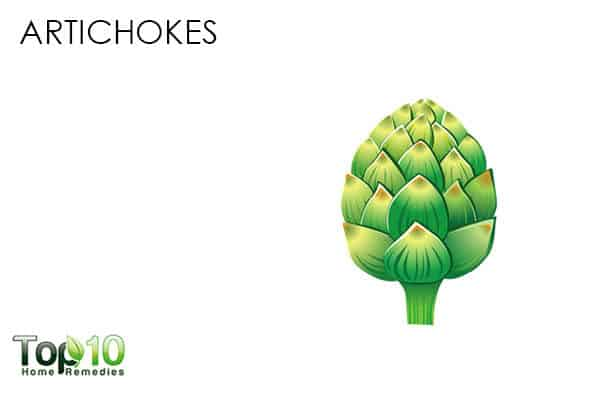 artichokes for antioxidants