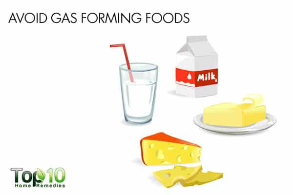 avoid gas forming food to treat gas during pregnancy