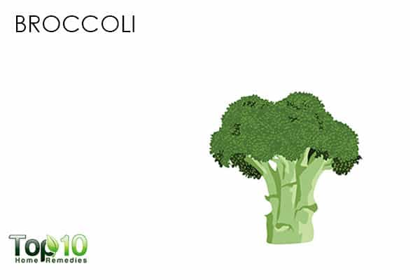 broccoli full of antioxidants