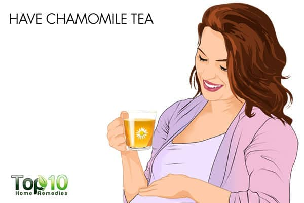 chamomile for gas during pregnancy