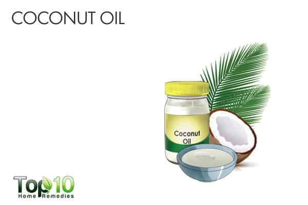 coconut oil for candidiasis of skin