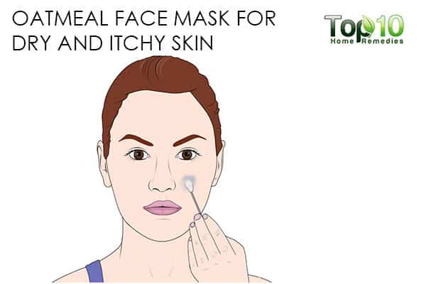 itchy skin use oatmeal face mask for skin problems