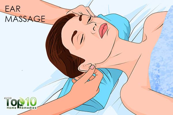 ear massage to handle smoking relapse