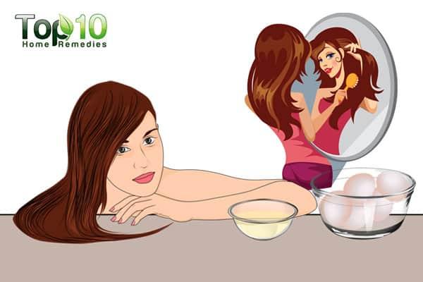 use egg masks for hair and skin