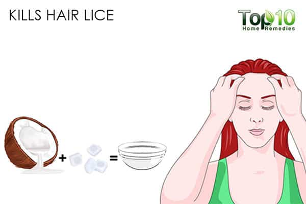 kills lice benefits of using coconut oil on hair
