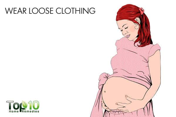 loose clothing for gas during pregnancy