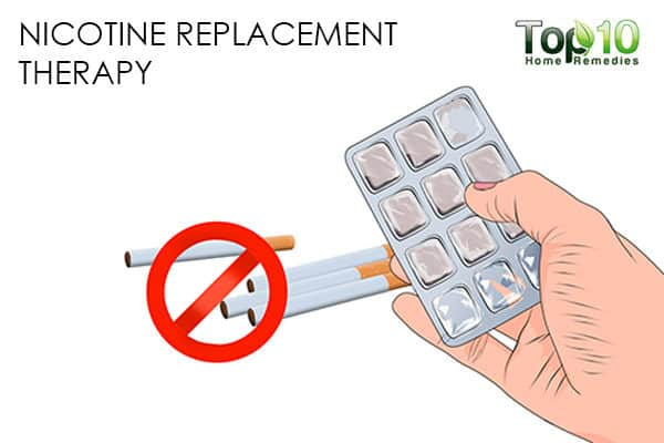 nicotine therapy to handle smoking relapse