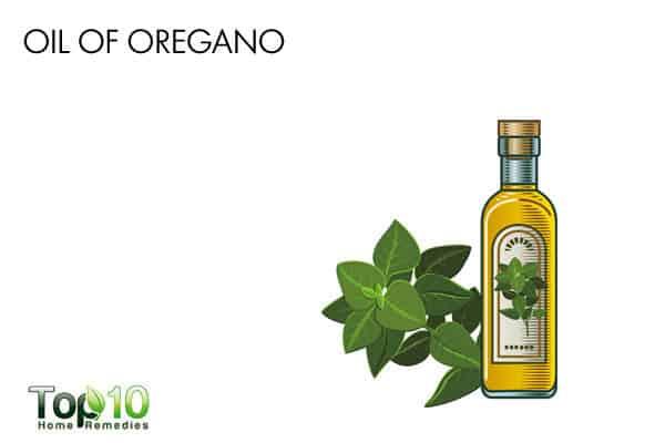 oil of oregano for candidiasis on skin