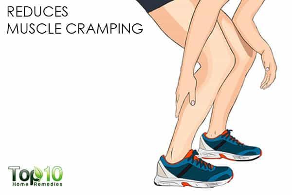 reduce muscle cramping benefits of canlendula flowers