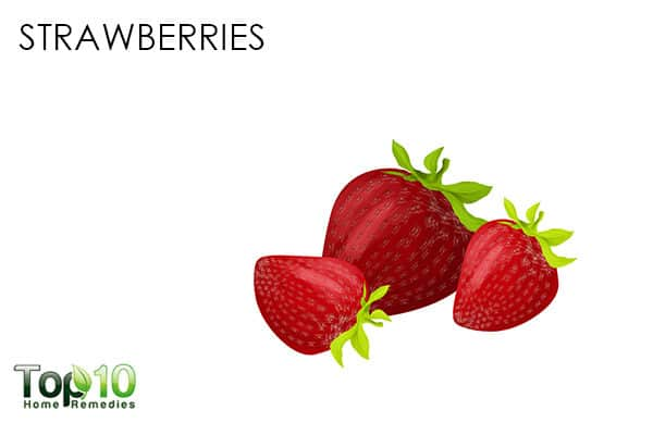 strawberries for antioxidants