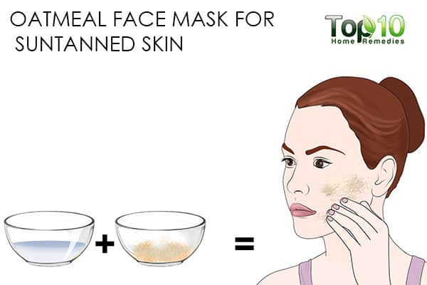 suntan use oatmeal face mask for skin problems