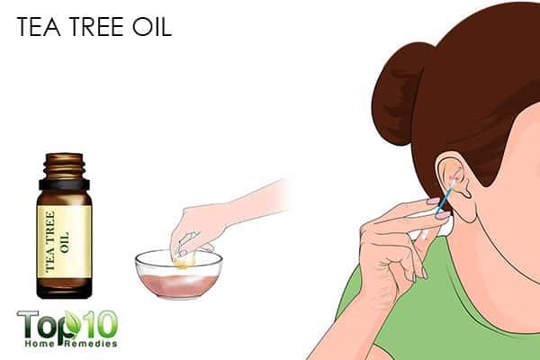 tea tree oil for pimple on ear