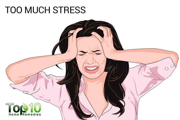 too much stress can lead to menopause