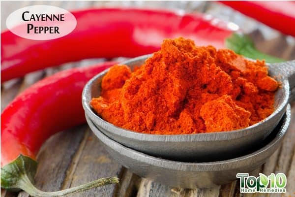 cayenne pepper for blood thinning