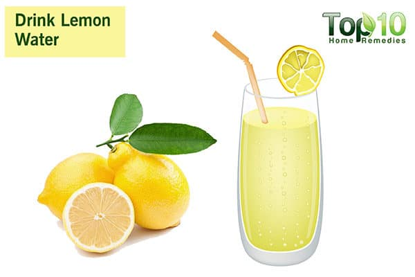 drink lemon water to control diabetes