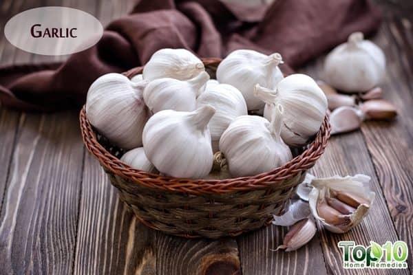 garlic natural blood thinners