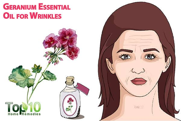 geranium oil for wrinkles