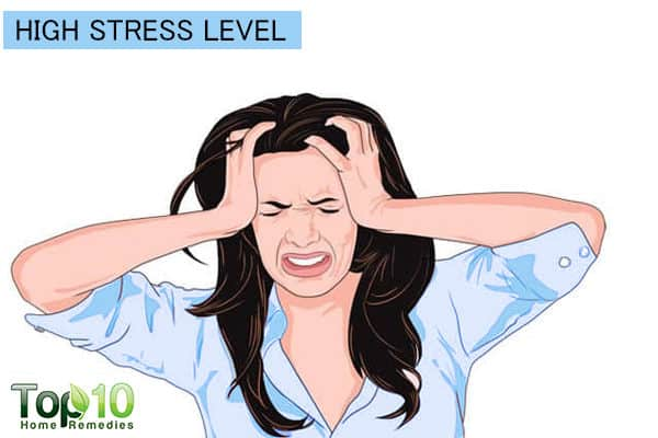 stress increases chances of high blood pressure