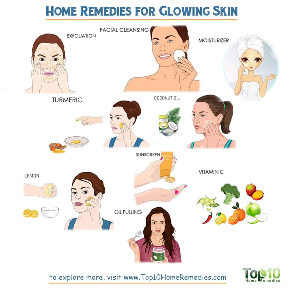 Home Remedies for Glowing Skin  Top 12 Home Remedies