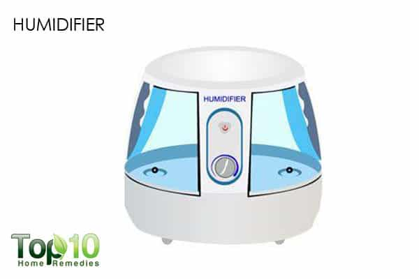humidifier for dry nose