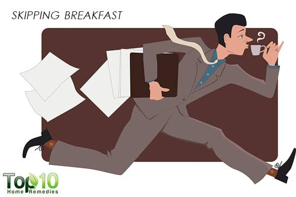 skipping breakfst can cause weight gain
