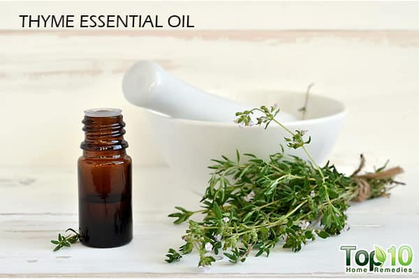 thyme essential oil for growing hair