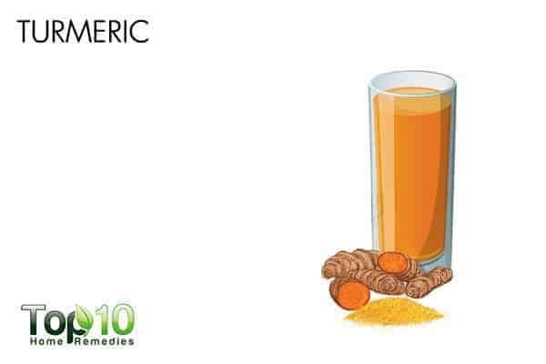 turmeric heals summer cold
