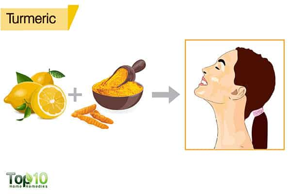 turmeric to remove suntan