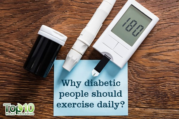 why diabetic people should walk daily