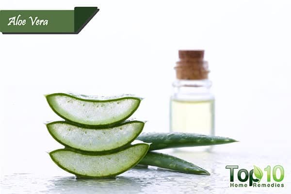 aloe vera to get rid of ringworm in kids