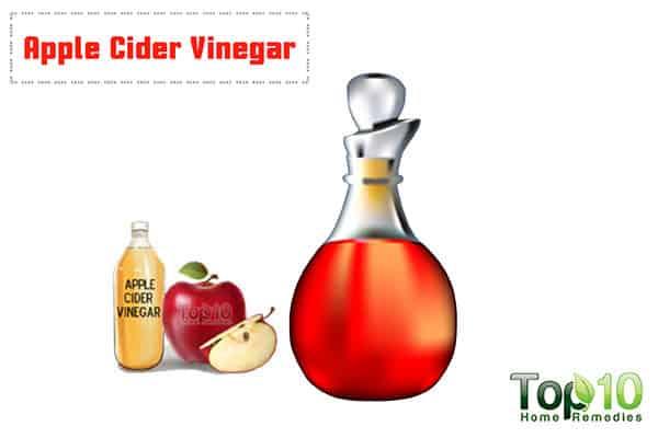 apple cider vinegar for genital itch
