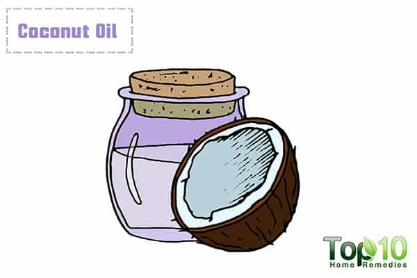 coconut oil for itching in private parts
