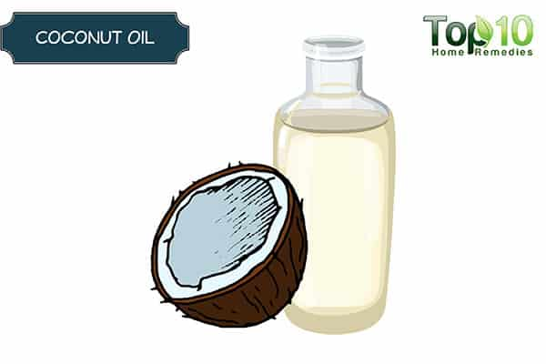 coconut oil for bags under eyes