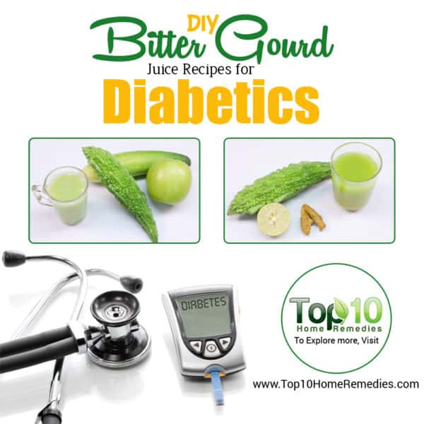 DIY bitter gourd recipes for diabetics