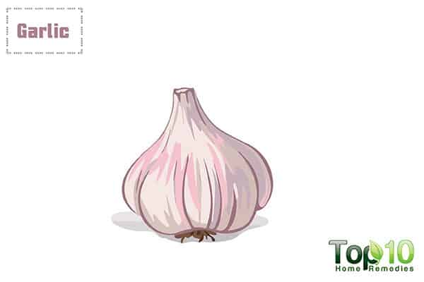 garlic to soothe itching in private parts