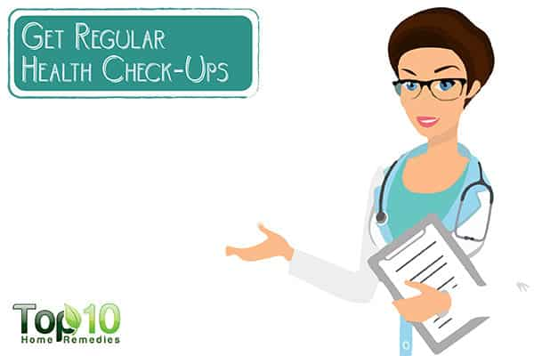 get regular health checkups to avoid hair thinning