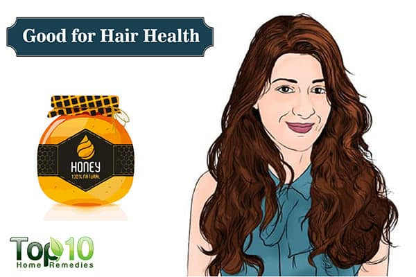 honey for hair health