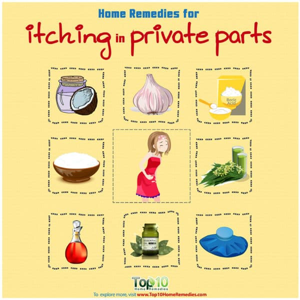 home remedies for itching in private parts