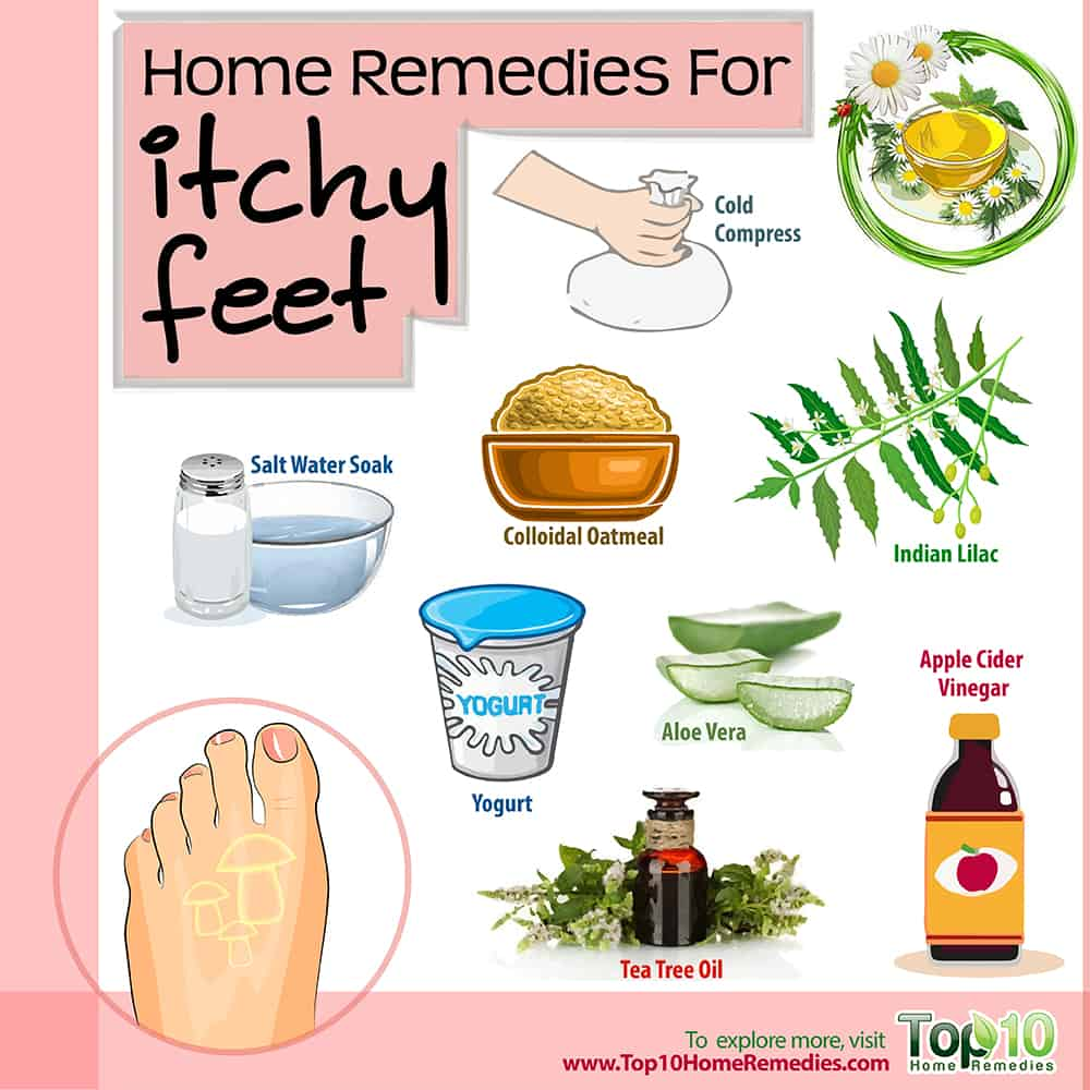Natural Remedy For Itchy Scaly Feet