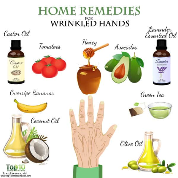 home remedis for wrinkles on hands