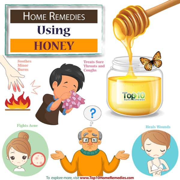 home remedies using honey