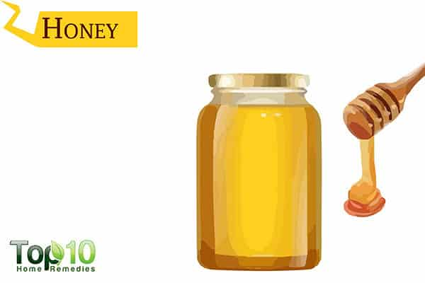 honey for insect bites