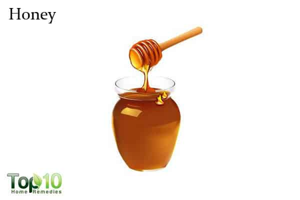 honey to remove wrinkles from hands