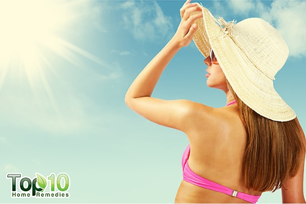 how to protect your skin from darkening in the sun