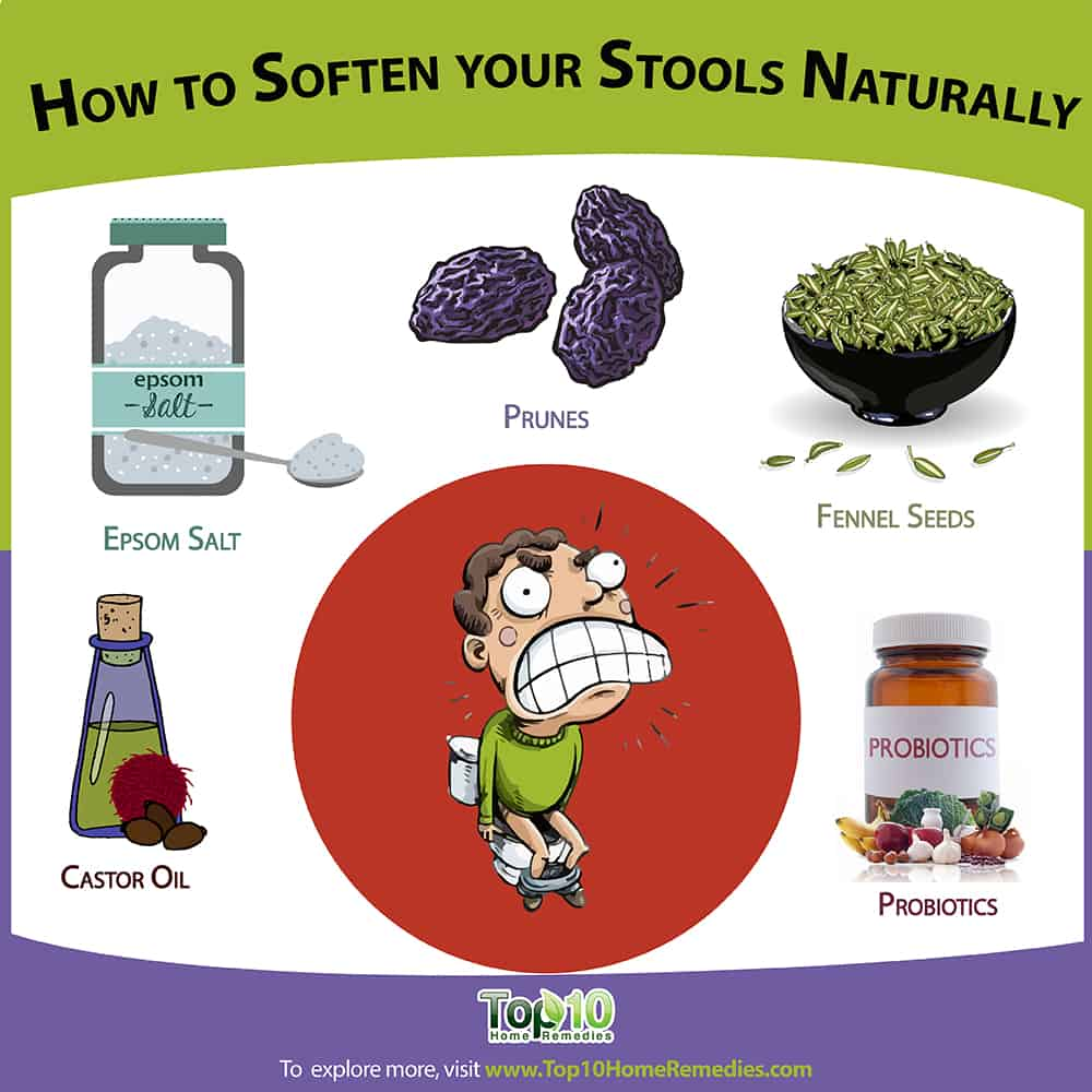 How To Soften Your Stools Naturally Top 10 Home Remedies