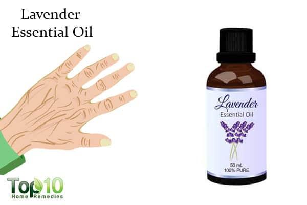 lavender oil for wrinkles on hands