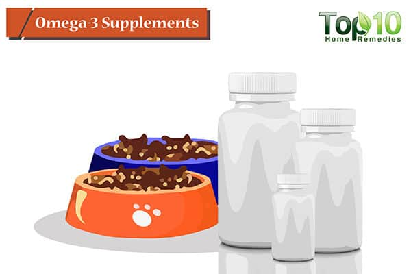 omega-3 supplements for hot spots on dogs