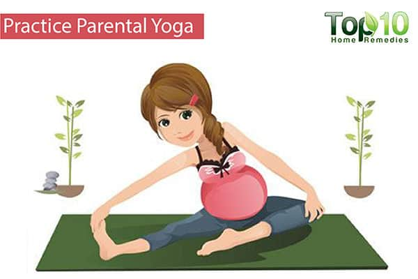 prenatal yoga for pregnancy foot swelling
