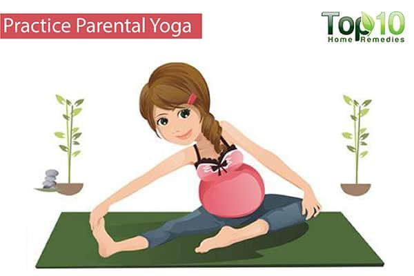 prenatal yoga for pregnancy foot swelling