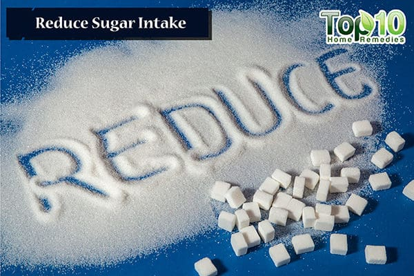 reduce sugar intake to control yeast infection during pregnancy